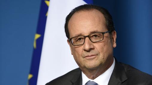 El presidente galo, François Holande