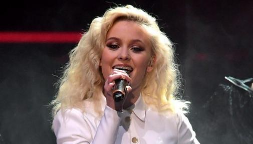La cantante sueca Zara Larsson