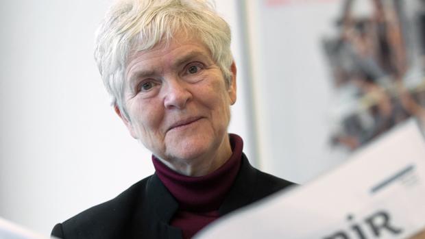 La pedagoga y ensayista sueca Inger Enkvist, experta en la comparación de sistemas educativos occidentales, durante una entrevista con Efe