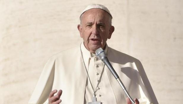El Papa Francisco durante la audiencia de este miércoles