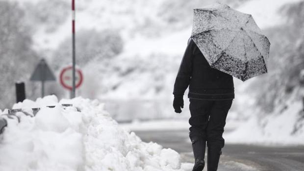 La próxima semana puede nevar en cotas bajas