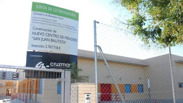 El Centro de Menores San Juan Bautista de Badajoz