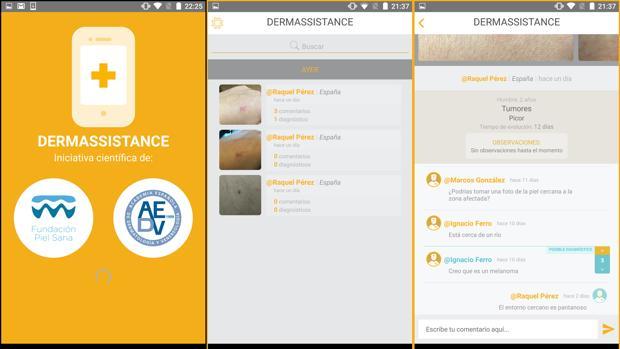 Así es Dermassistance, la aplicación que permitirá el acceso directo a un dermatólogo