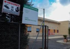 El centro de acogida San Juan Bautista abrió en el año 2009