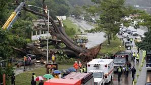 La tormenta tropical Otto, a punto de convertirse en huracán en el suroeste del Caribe