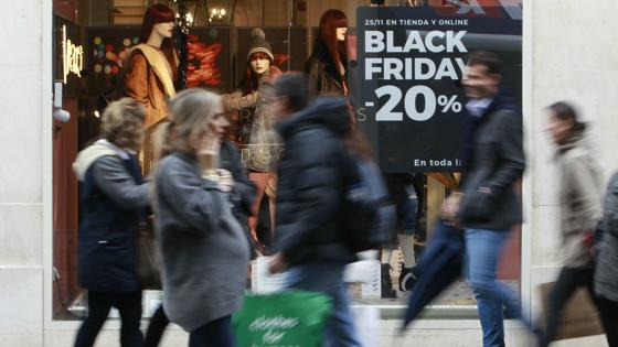 Ambiente de «Black Friday» en Sevilla