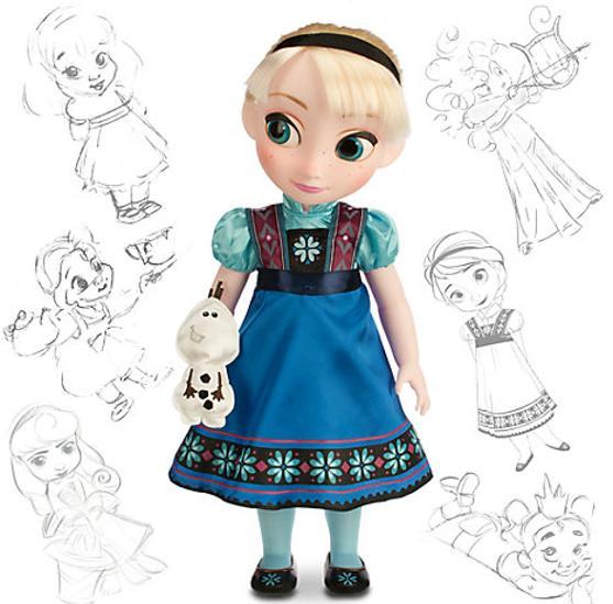 Muñeca de la protagonista de Frozen, Elsa, en la tienda Disney por 19,77