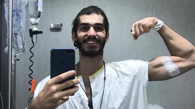 Pablo Ráez, tras el trasplante de médula: «Todo está saliendo muy bien, estoy muy feliz y fuerte»