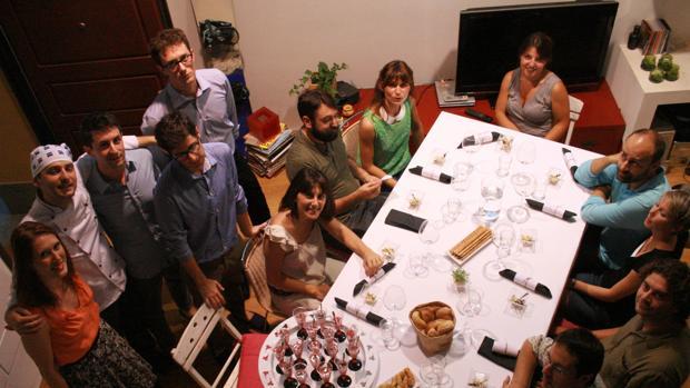 Imagen de uno de los restaurantes en casa, que se publicitan en webs como Gnammo.com