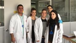El equipo de investigación del Centro de Investigación Biomédica
