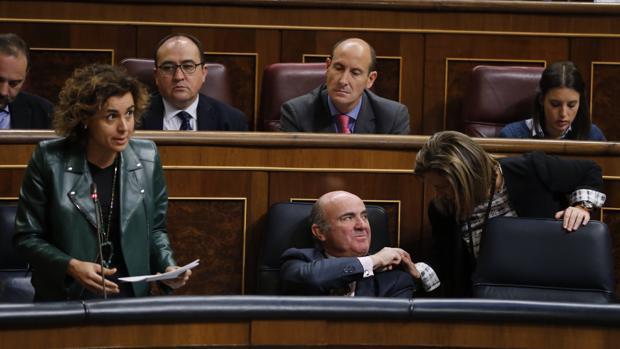 La ministra de Ssnidad, Dolors Monserrat