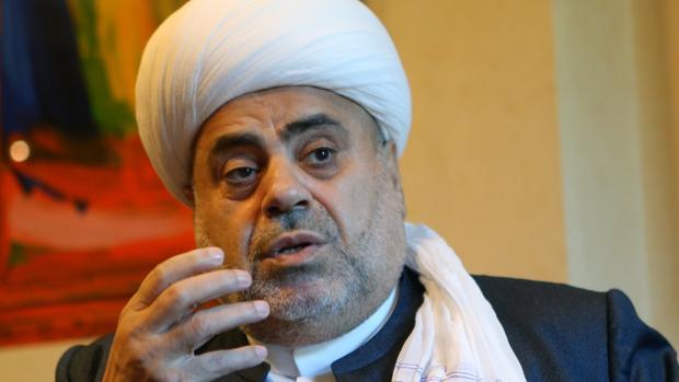 Allahshukur Pashazadeh, Gran Muftí de Azerbaiyán, en un momento de la entrevista con ABC