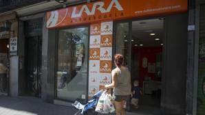 Un centro de la autoescuela Lara, en Madrid