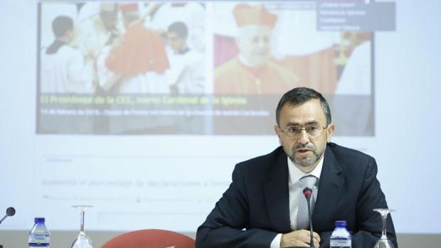 El vicesecretario de Asuntos Económicos de la Conferencia Episcopal, Fernando Giménez Barriocanal