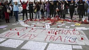 Protesta en la Puerta del Sol de Madrid, el pasado 26 de febrero, contra la violencia machista
