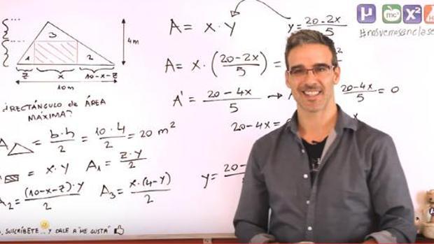 David Calle, en su canal de YouTube