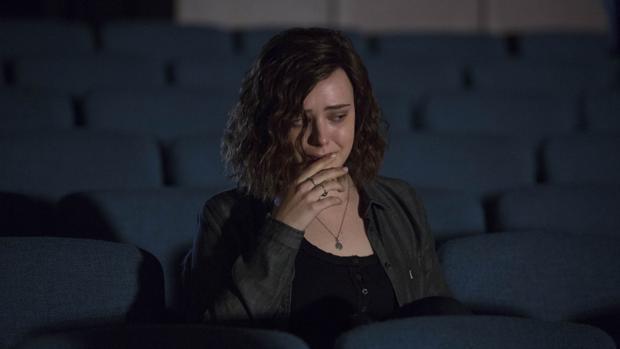 Fotograma de la serie de Netflix, «Por trece razones»