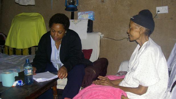 Cuidados paliativos en África, menos programas en todo el continente que en solo Reino Unido