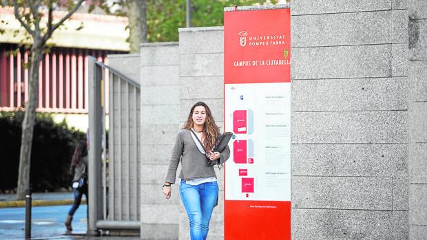 La Universidad Pompeu Fabra, una de las mejores de España