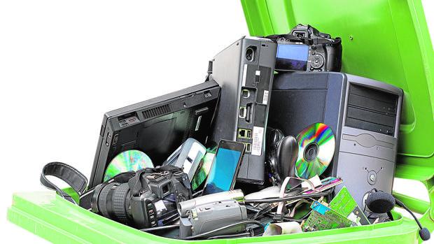 Cada año se producen 40 millones de toneladas de basura electrónica
