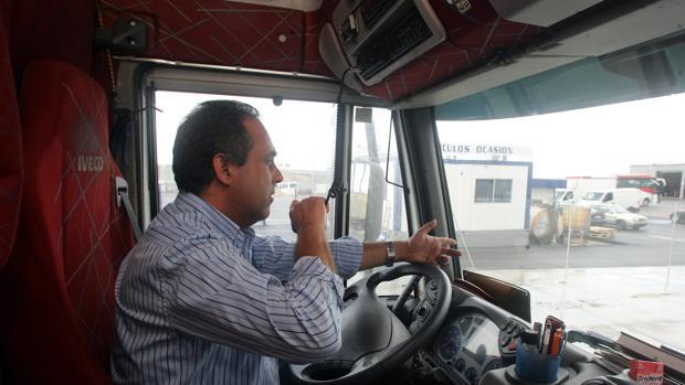 Paro organizado por los camioneros