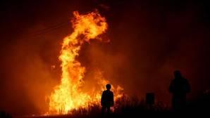 OIncendio en Oleiros, en el distrito de Castelo Branco