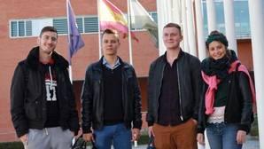 Estudiantes de Erasmus