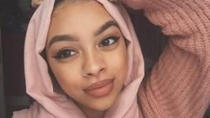 Imagen del Twitter de Celine Dookhran, la joven musulmana de origen indio