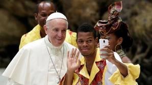 El Papa Francisco duranta la audiencia general de este miércoles