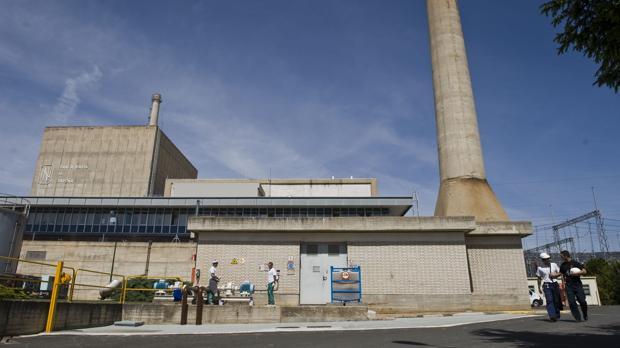La central nuclear de Santa María de Garoña en Burgos