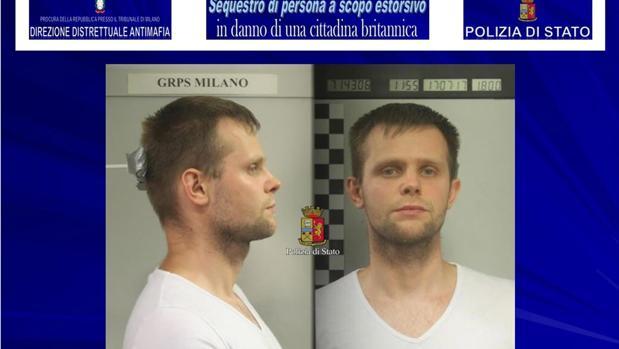 El sospechoso del secuestro, Lukasz Herba