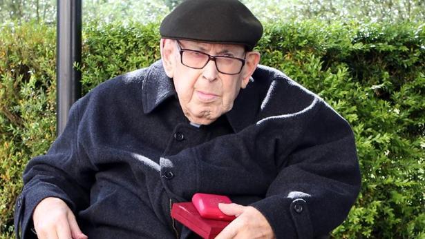 Joaquim Pereira, el sacerdote más longevo de Portugal