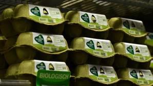Huevos a la venta en un supermercado