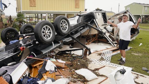 «Harvey» ha sido la peor tormenta que ha sufrido Rockport en 47 años