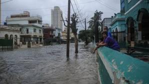Inundaciones en La Havana tras el paso del huracán Irma