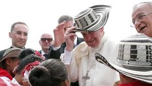 El Papa Francisco, en su visita a Cartagena de Indias, su último destino en Colombia
