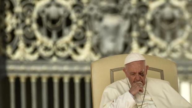 El Papa durante la audiencia general de este miércoles