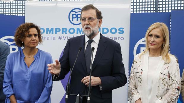 El presidente del Gobierno ya hizo público su apoyo al Pacto en un acto del PP junto a la ministra Dolors Montserrat,