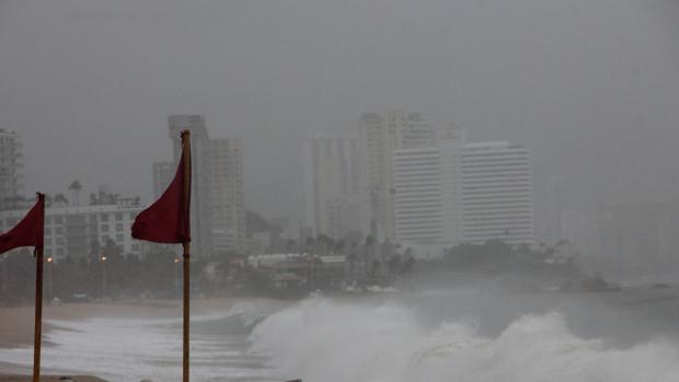 El ciclón Max gana cada vez más potencia