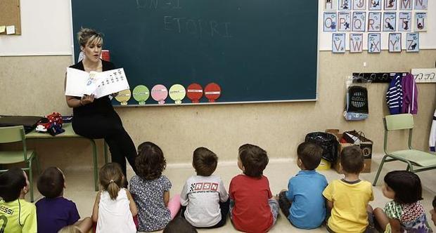 Uno de cada cuatro docentes en España es interino