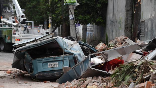 Un nuevo terremoto sacude México