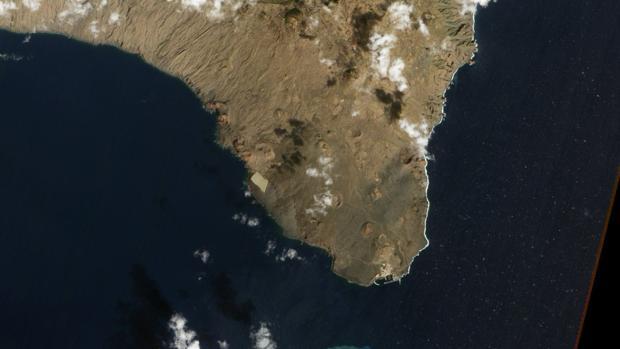 El volcán de El Hierro fue elegido «foto de la NASA en 2012»