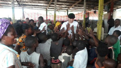 José Barahona trabaja desde hace tres años en República Democrática del Congo