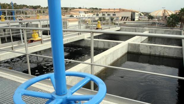 Estación de agua residual