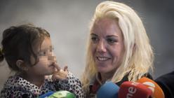 María Ángeles, una de las presas españoles que aterrizó en el país el pasado 29 de septiembre procedentes de Perú