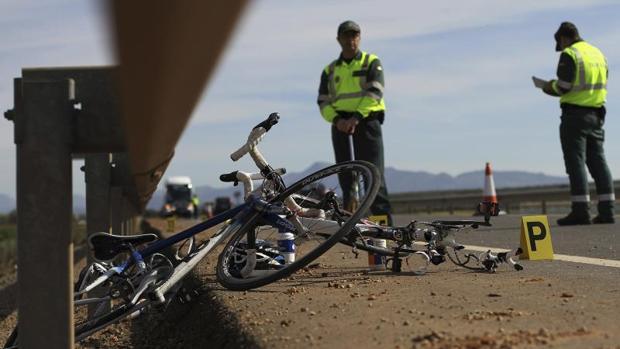 Imagen de archivo del atropello de un ciclista