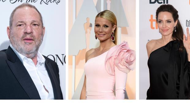La grieta comenzó en Hollywood con el caso Weinstein, denunciado por actrices de la talla de Paltrow y Jolie