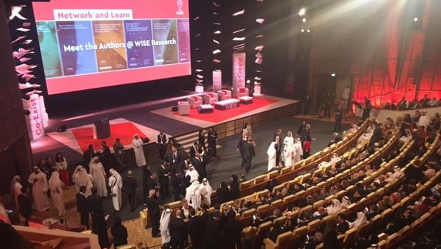 El escenario en el que ha tenido lugar la apertura de WISE 2017