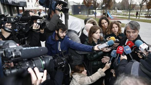Agustín Martínez, abogado de tres de los jóvenes acusados de una supuesta violación de una joven de 18 años en los Sanfermines del 2016,