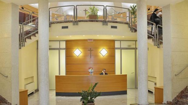 Interior del Banco Vaticano